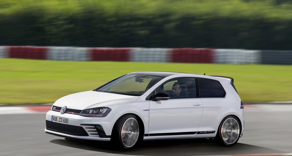 Volkswagen Golf GTI Clubsport: Ultime évolution