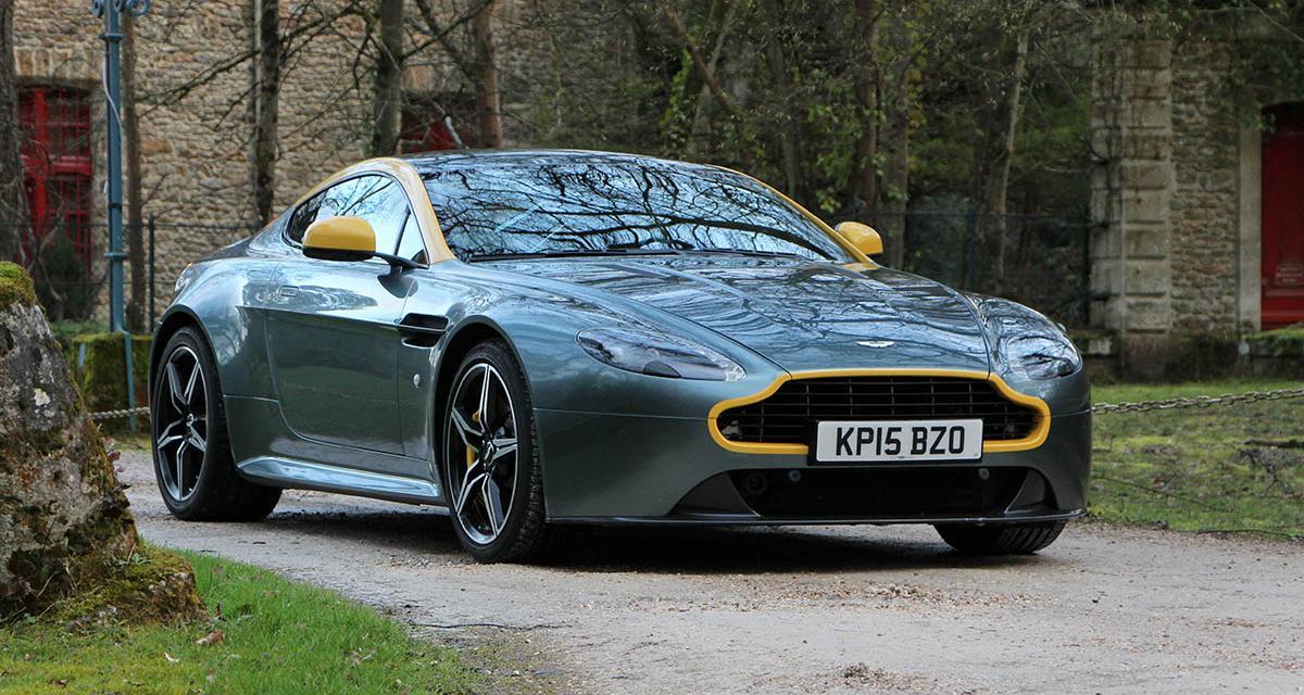 Essai Aston Martin Vantage N430