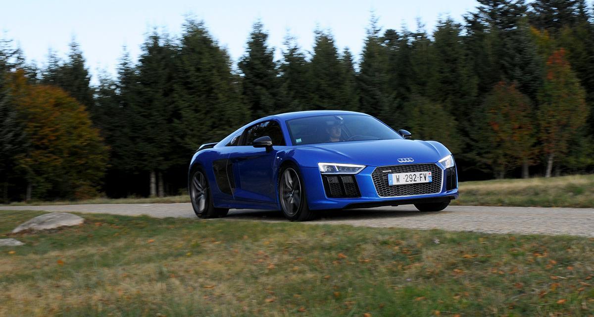 Essai Audi R8 V10 plus (2015) : lettres de noblesse