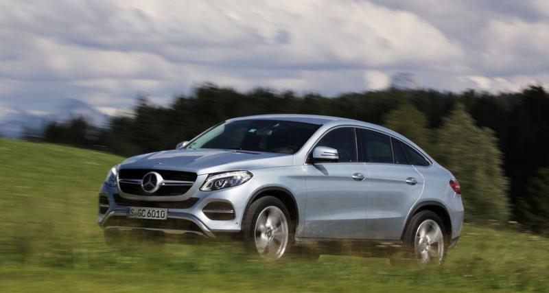 Essai : Mercedes GLE 400 4MATIC Coupé