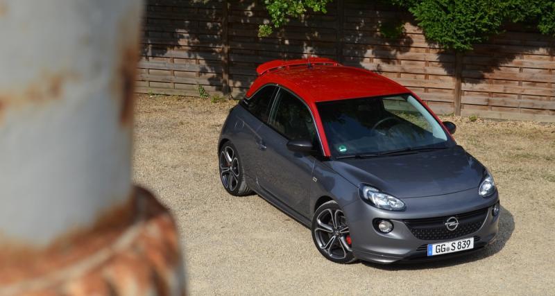 Essai : Opel Adam S