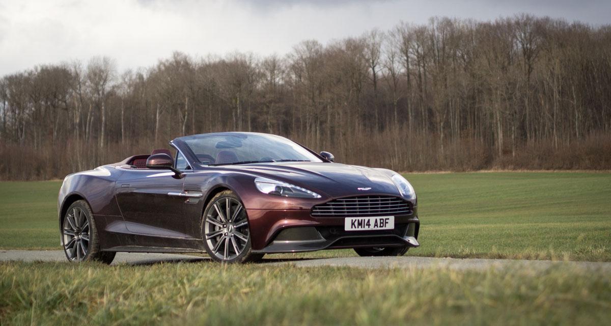 Essai Aston Martin Vanquish Volante : la beauté du geste