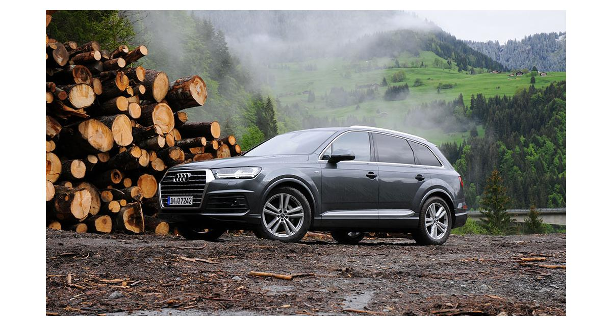 audi q7 notre essai nos photos et les tarifs. Black Bedroom Furniture Sets. Home Design Ideas