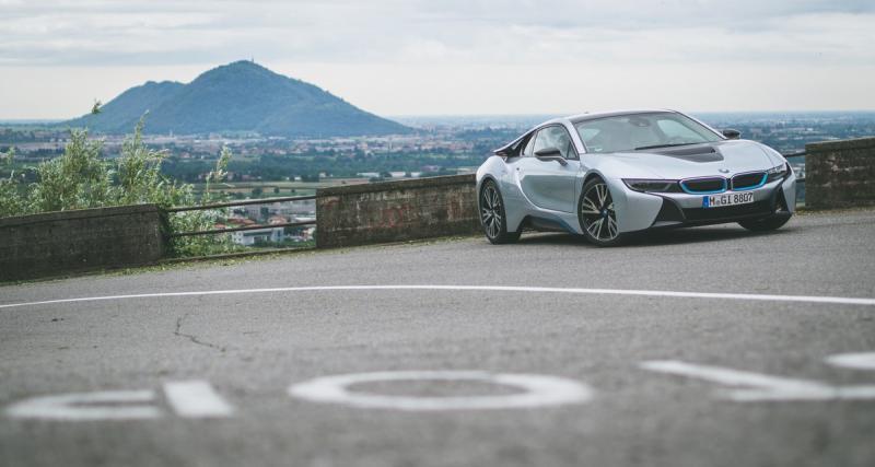 Essai : BMW i8