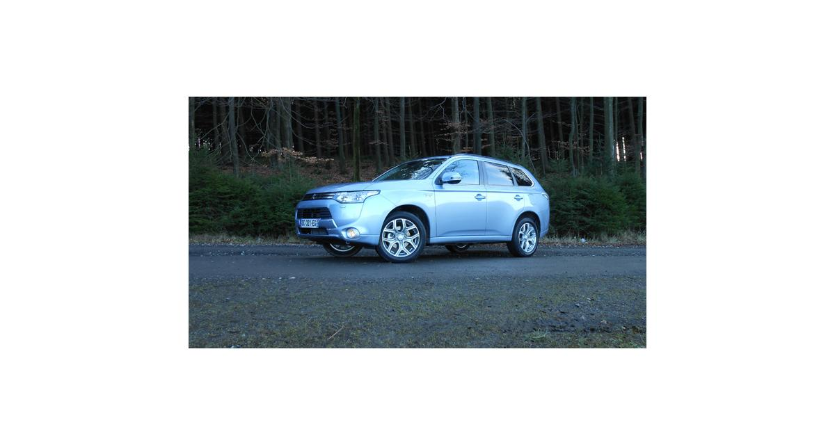Essai : Mitsubishi Outlander PHEV