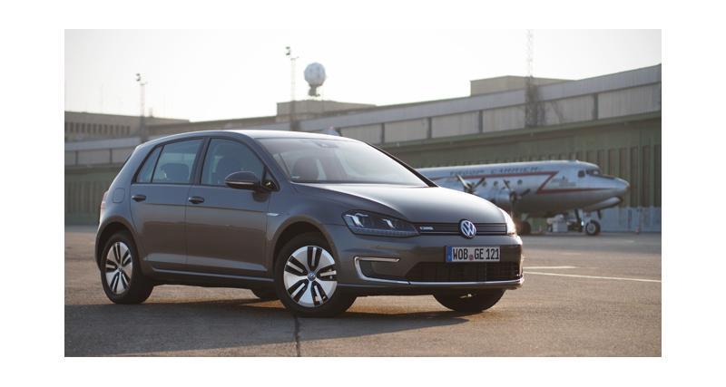 Essai : Volkswagen e-Golf
