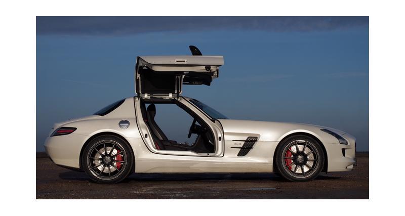 Essai : Mercedes SLS AMG GT