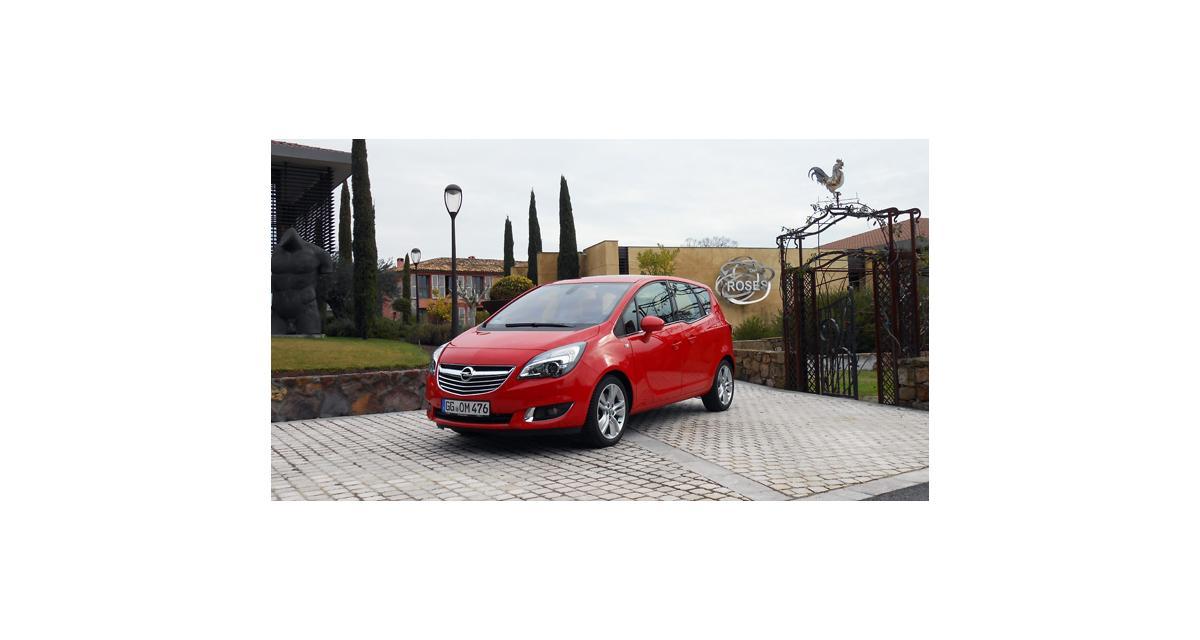 Essai Opel Meriva restylé 1.6 CDTI 136 ch