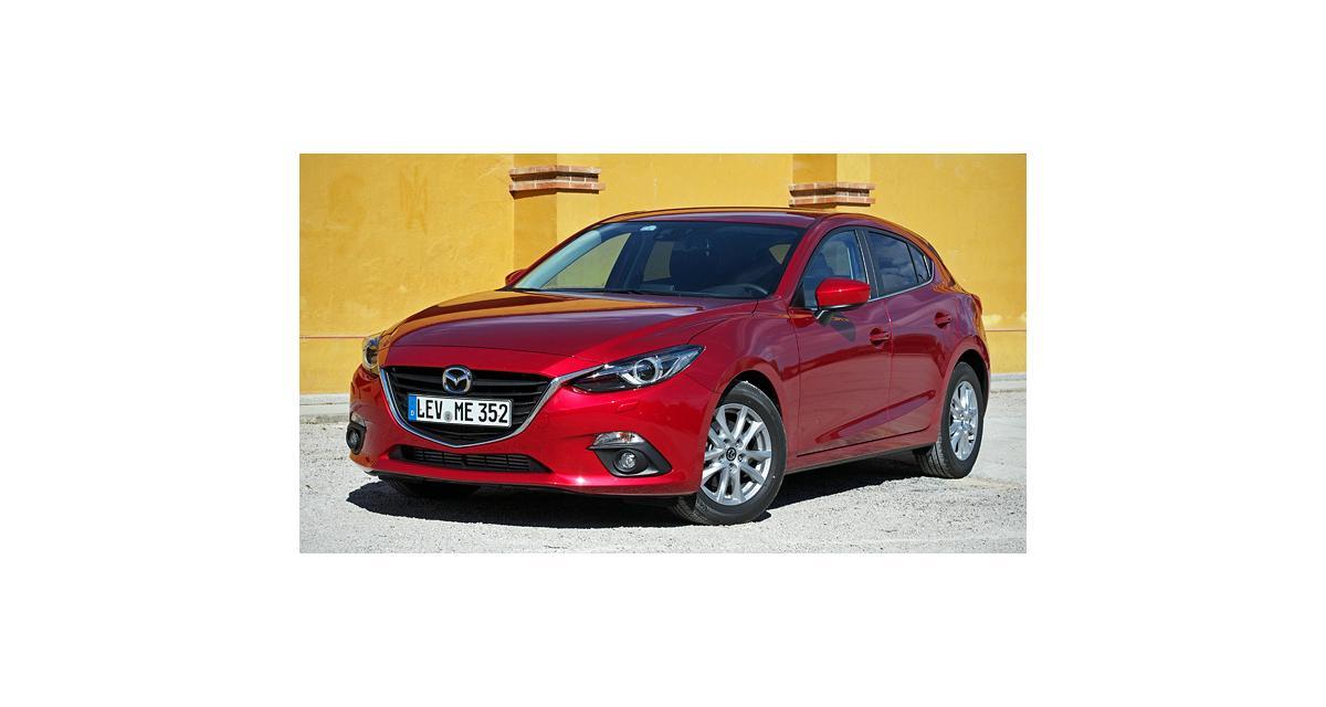 Essai : Mazda3 2.2 Skyactiv-D 150 ch