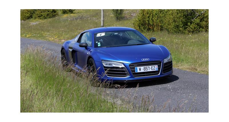 Essai Audi R8 V10 plus : question de prestige