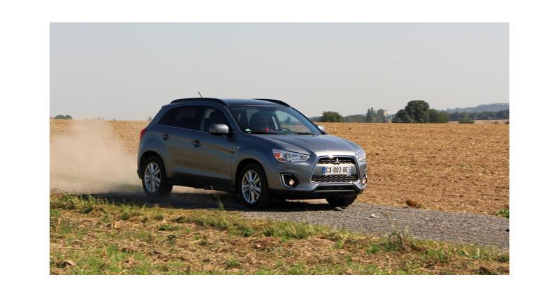 Essai : Mitsubishi ASX restylé 2.2 DiD 4WD BVA