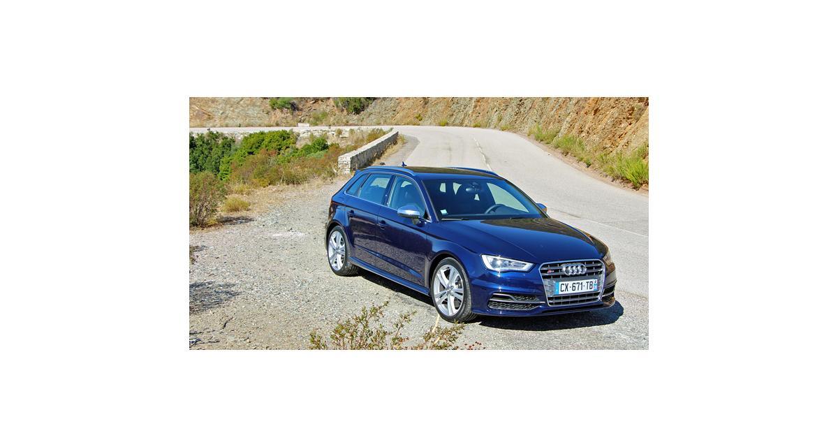 Essai : Audi S3 Sportback