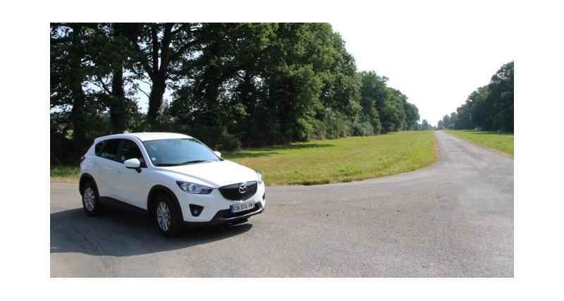 Essai Mazda CX-5 : tête d'affiche