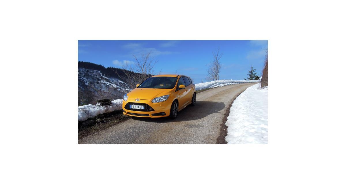Essai Ford Focus ST : presque une RS