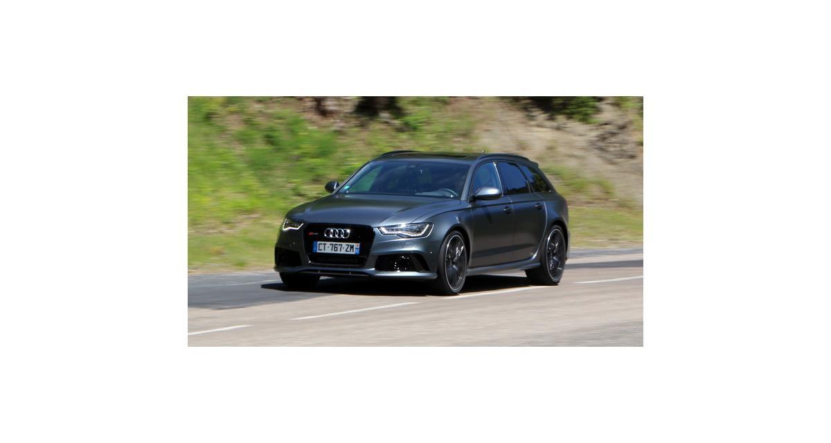 Essai Audi RS6 : missile downsizé