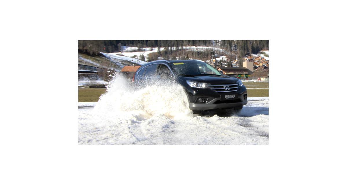 Essai Honda CR-V : Sports divers