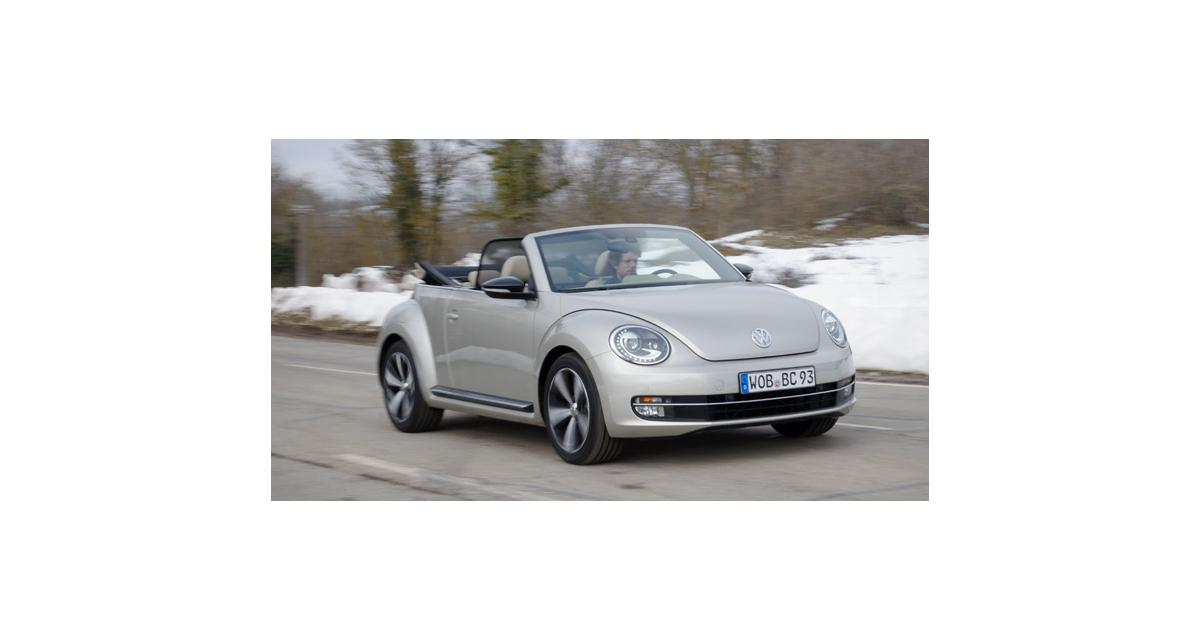 essai volkswagen coccinelle cabriolet 2 0 tdi 140 ch 2013. Black Bedroom Furniture Sets. Home Design Ideas