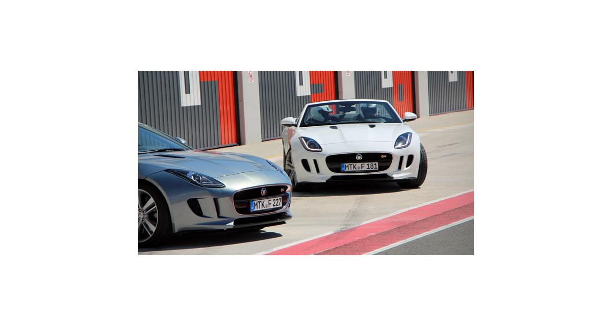 Essai circuit : Jaguar F-Type 3.0 V6 S 380 ch
