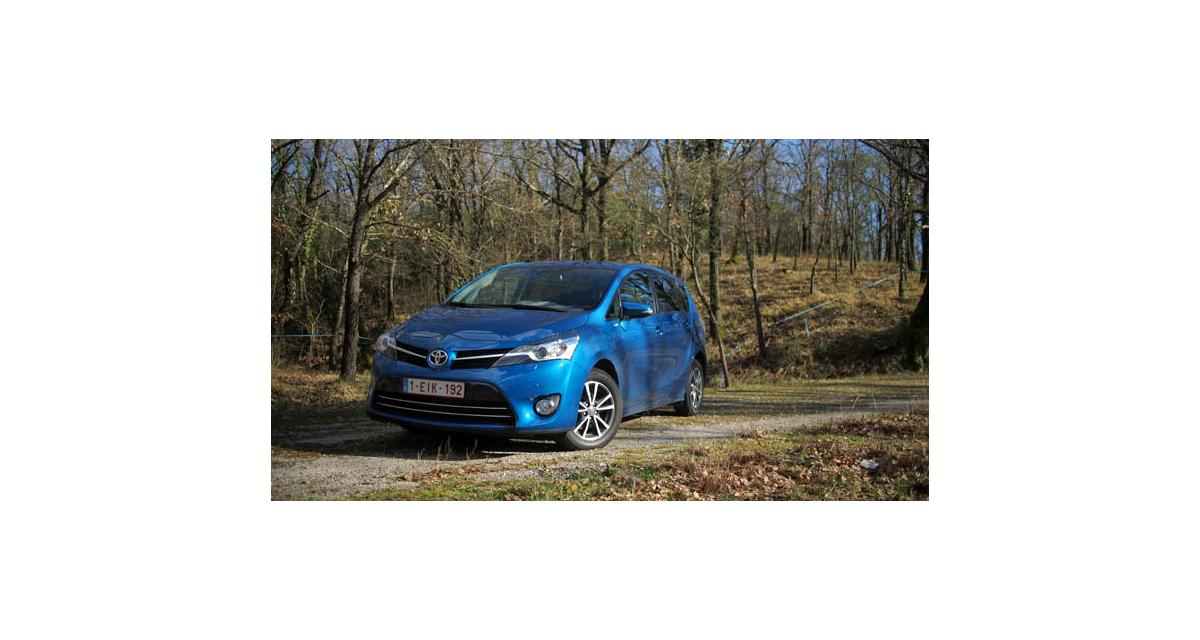 Essai : Toyota Verso 2.0 D-4D 124 ch (2013)