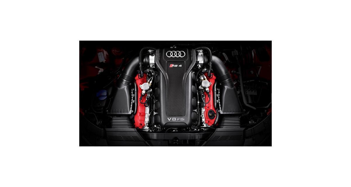 Essai Audi gamme V8 : boîte de chocolats