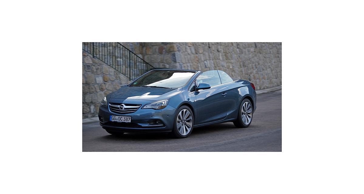 Essai : Opel Cascada 1.6 SIDI 170 ch