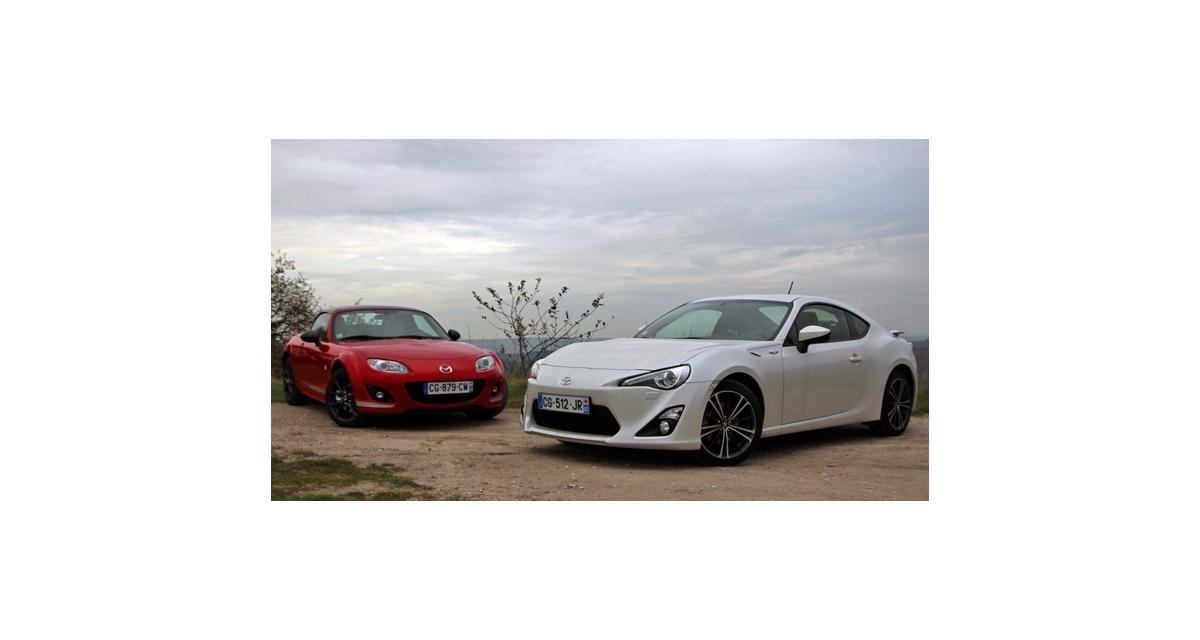 Toyota GT86 contre Mazda MX-5 : les incorruptibles
