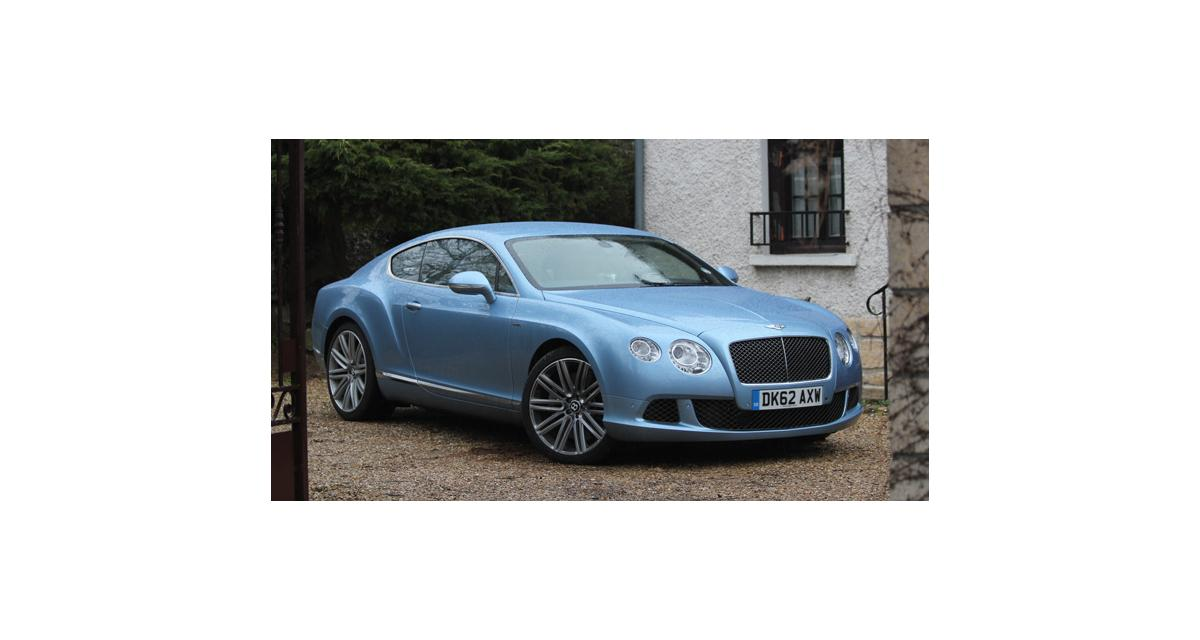 Essai Bentley Continental GT Speed (2013)