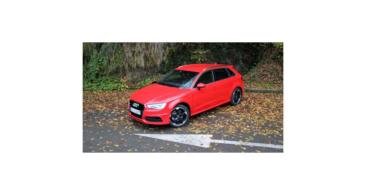 Essai Audi A3 Sportback : format A4