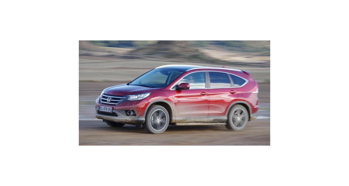Essai : Honda CR-V 2.2 i-DTEC 150 ch (2013)