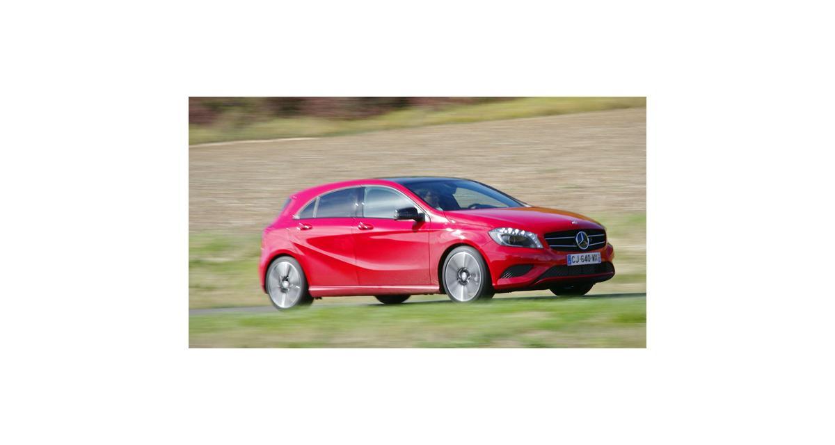 Essai : Mercedes Classe A 180 BlueEfficiency (2012)