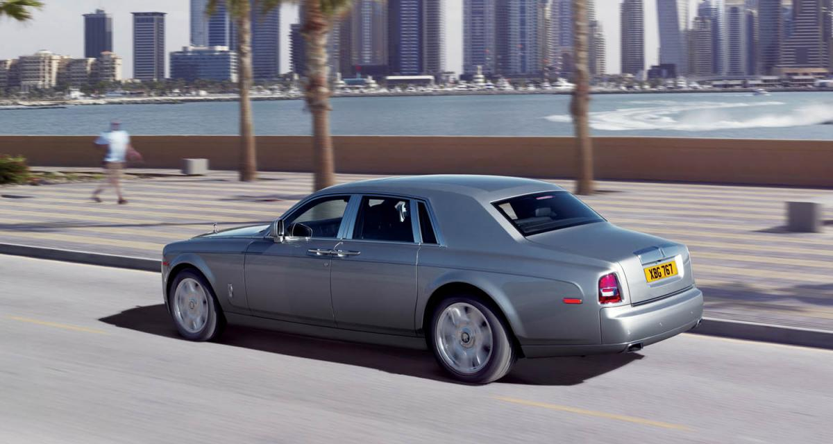 Essai Rolls-Royce Phantom Série II