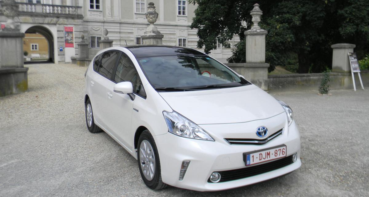 Essai Toyota Prius+