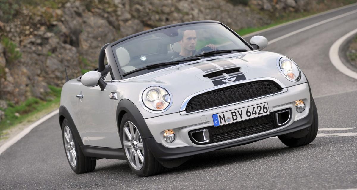 Essai Mini Roadster Cooper S 184 ch