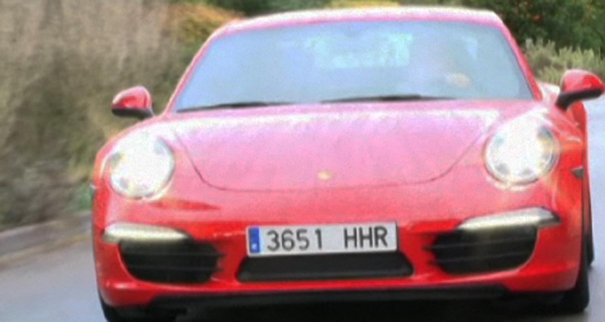 Essai vidéo : nouvelle Porsche 911 type 991
