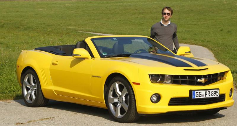 Essai : Chevrolet Camaro cabriolet