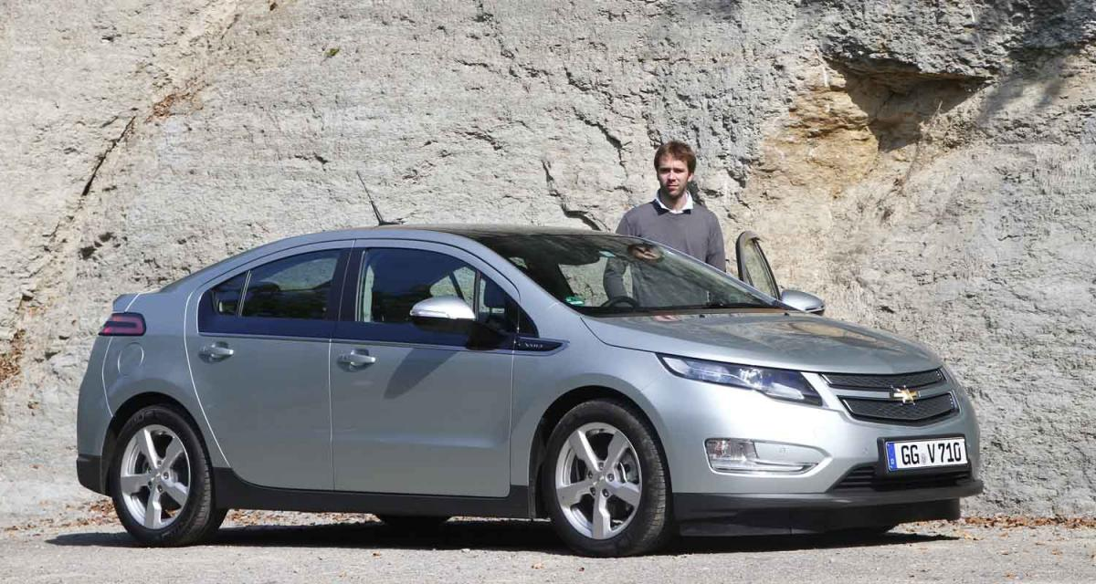 Essai : Chevrolet Volt