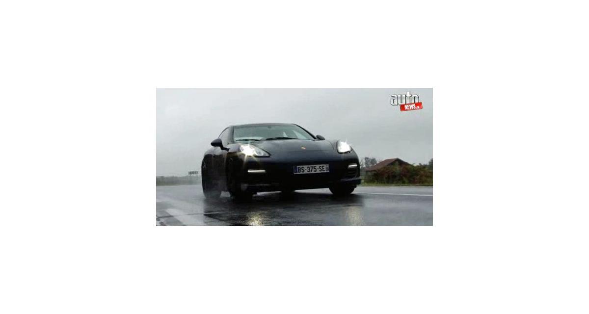 Essai vidéo : Porsche Panamera Diesel