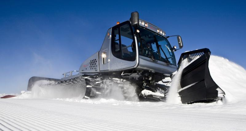 Essai Prinoth Everest : 430 ch sur la neige