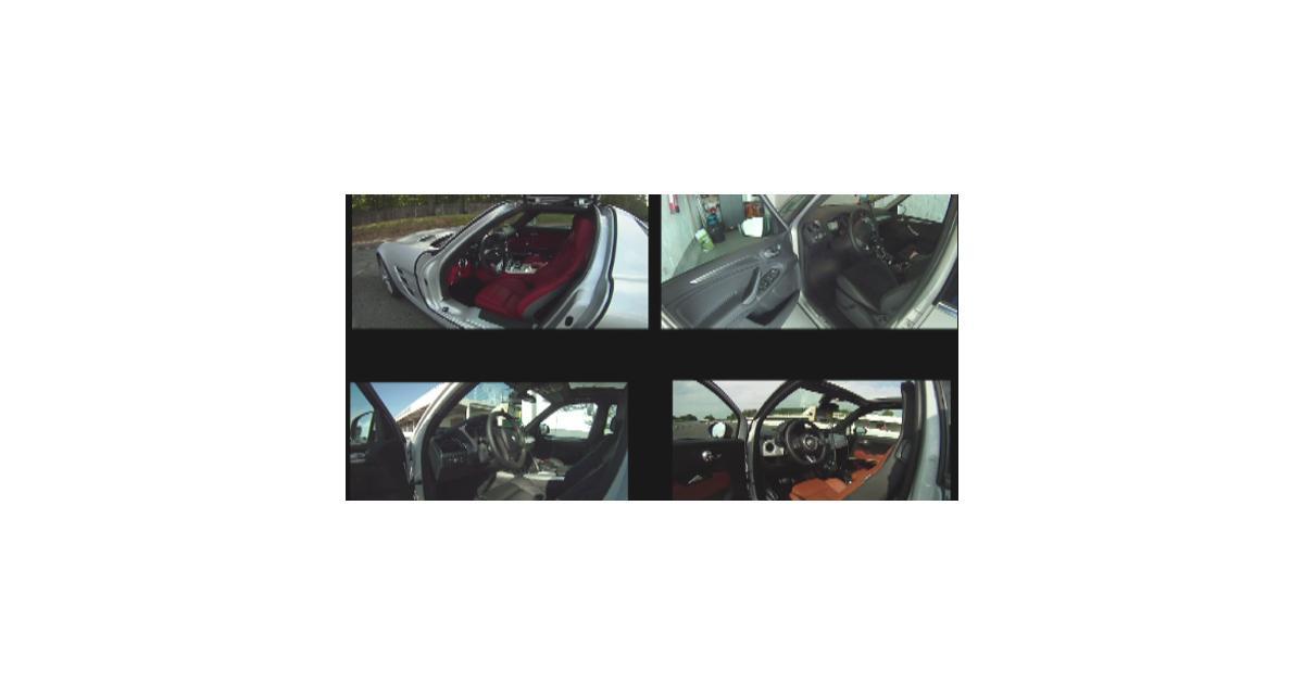 Vidéo Auto Moto : le Mercedes SLS 63 AMG à Montlhéry
