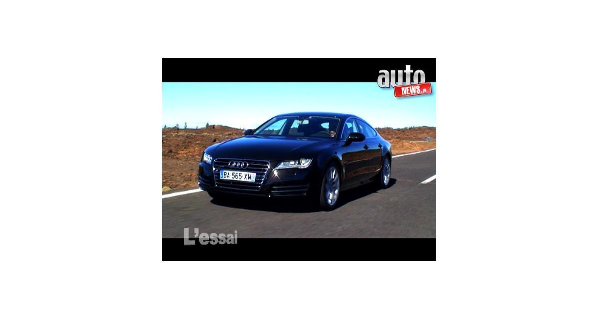 Essai vidéo de l'Audi A7 Sportback