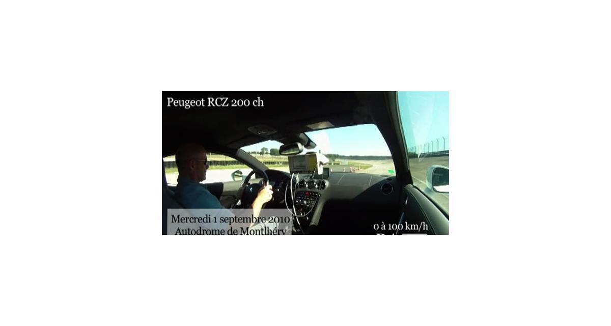 Vidéo Auto Moto : le 0 à 100 km/h du Porsche Cayenne S à Montlhéry
