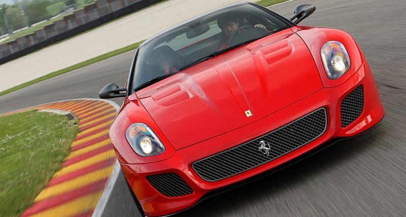 Essai Ferrari 599 GTO