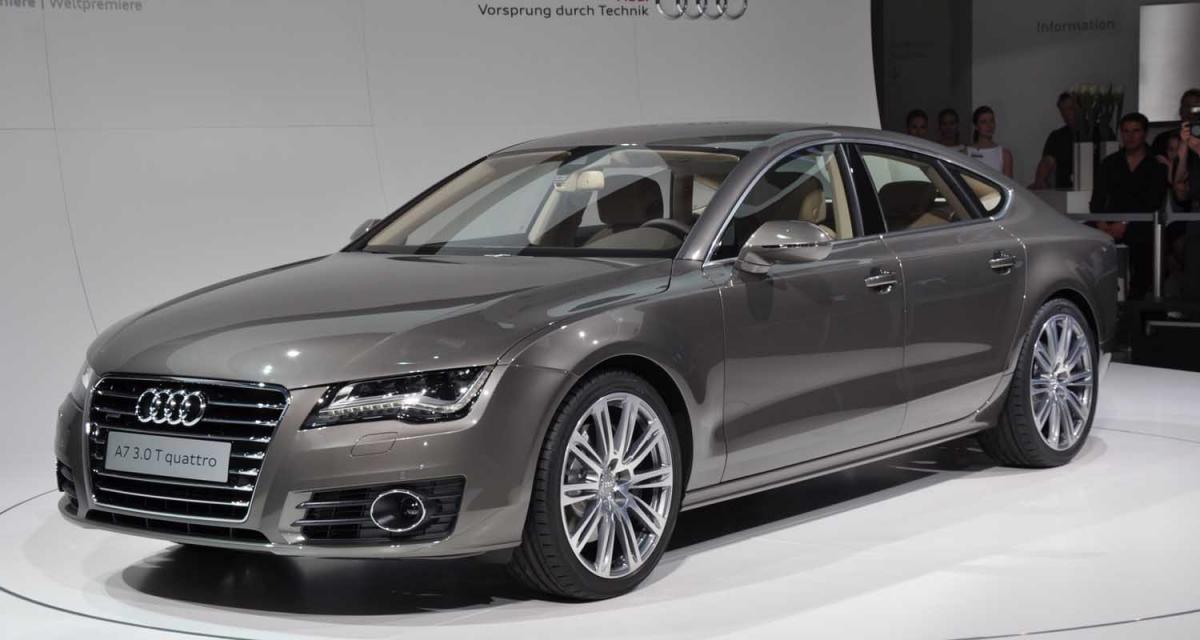 Présentation vidéo de l'Audi A7 Sportback
