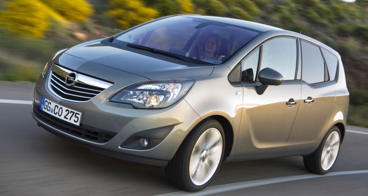 Essai vidéo de l'Opel Meriva