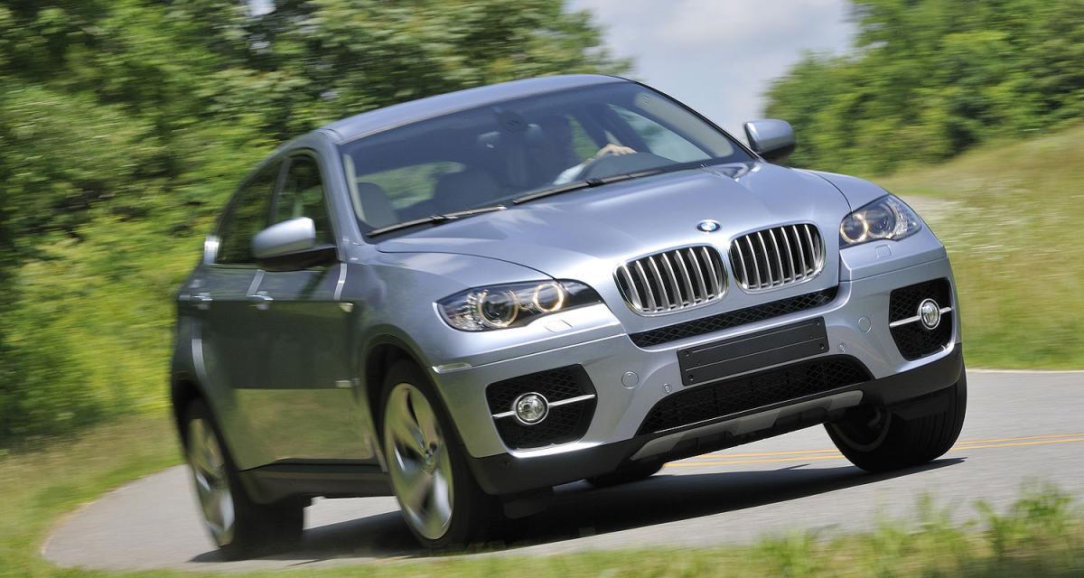 Vidéo Auto Moto : le 0 à 100 km/h du BMW X6 ActiveHybrid à Montlhéry