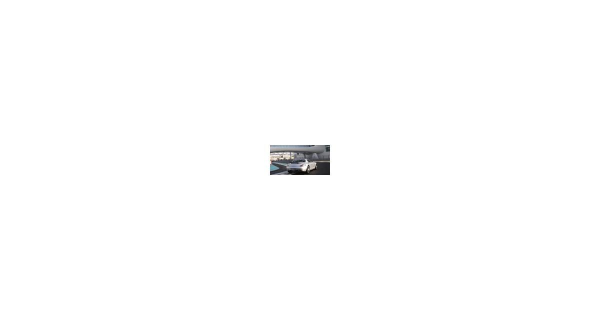 Essai vidéo : Mercedes SLS AMG sur le circuit d'Abu Dhabi