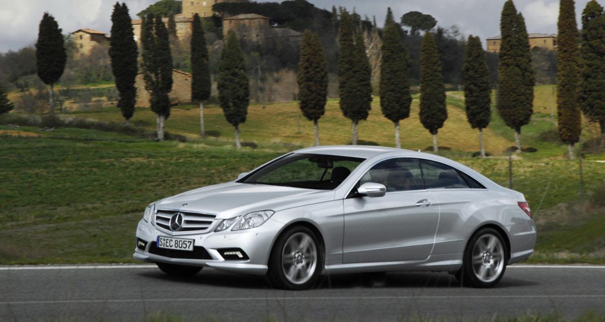 Essai mercedes classe e coup 350 cgi - Mercedes classe e 350 coupe ...