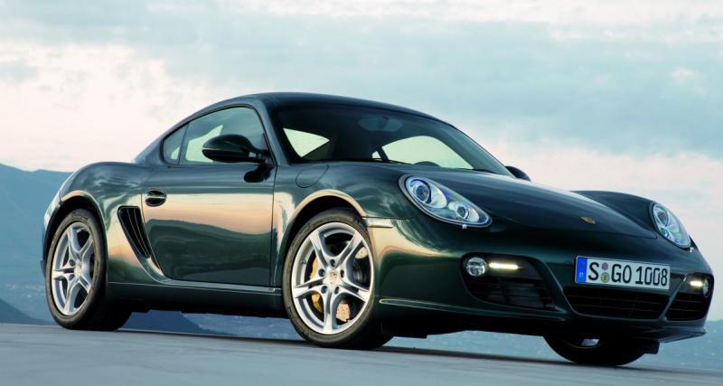 Essai Porsche Cayman S 2009