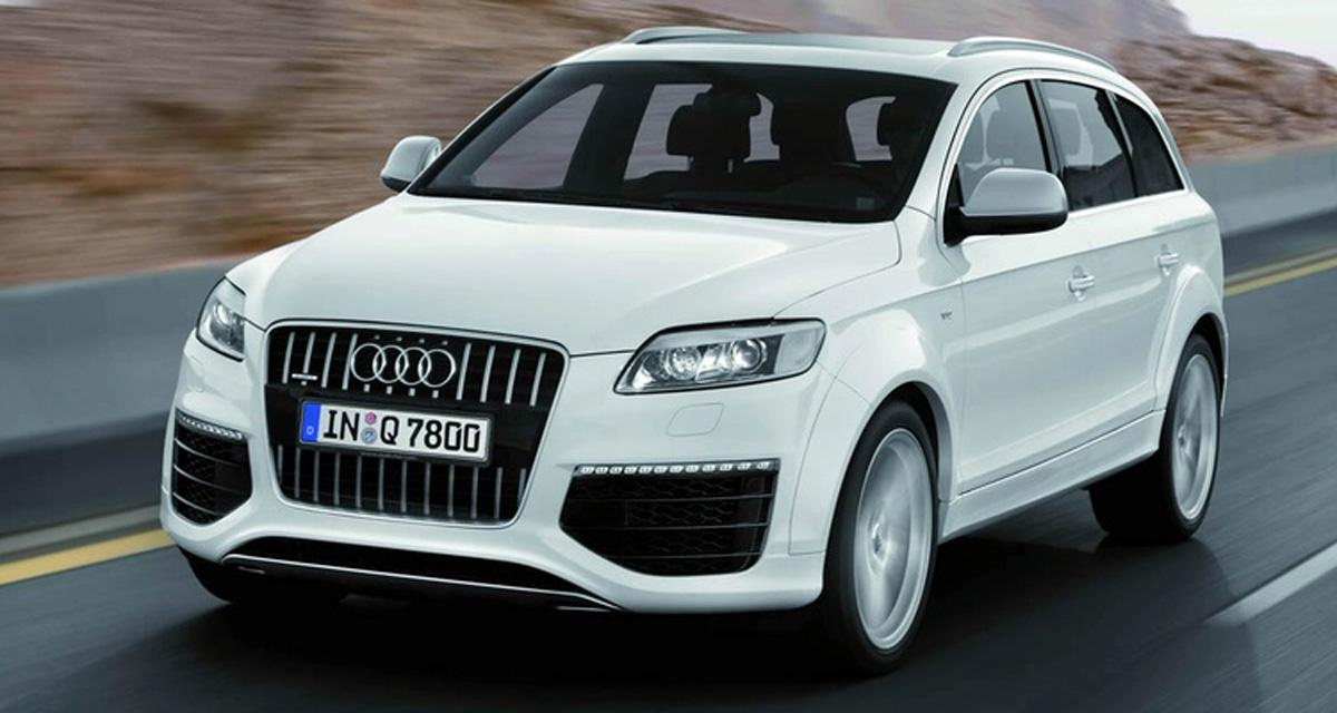 audi q7 v12 tdi 7 places. Black Bedroom Furniture Sets. Home Design Ideas