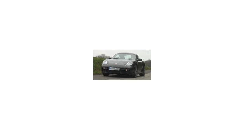 Essai vidéo Porsche Cayman S Design Edition 1